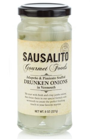 drunken cocktail onions