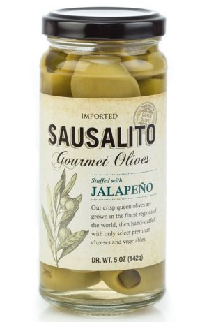 gourmet jalapeno stuffed olives