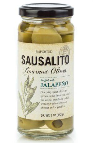 gourmet jalapeno stuffed olives