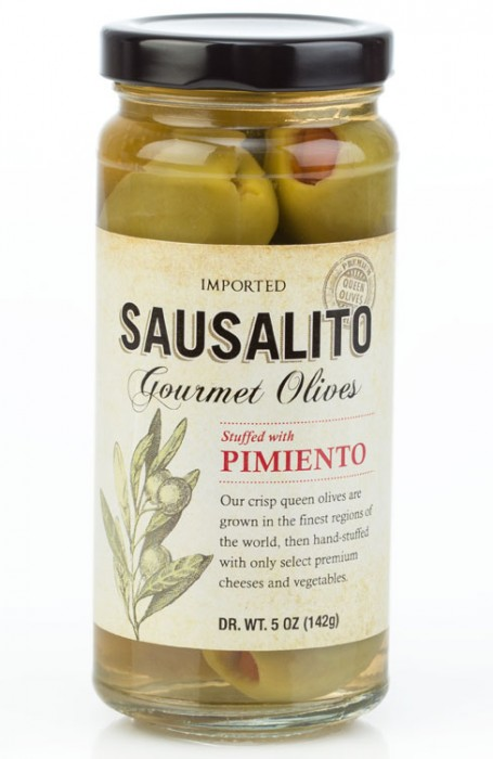 gourmet pimiento stuffed olives